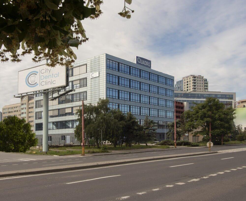 Budova City Dental Clinic v Bratislave